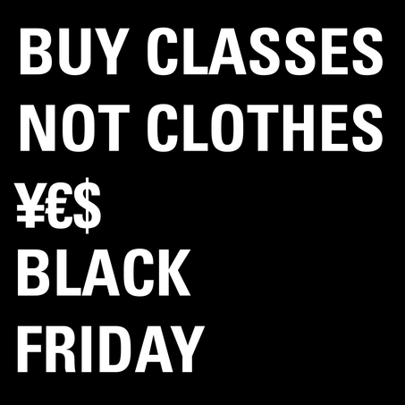 Buy Classes Not Clothes