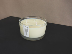 now available – extra-large three wick candles
