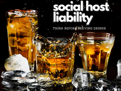 Hosting a New Year's Eve Party?  What is Social Host Liability?