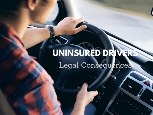 Uninsured Drivers – Legal Consequences