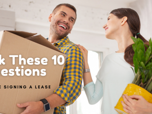 10 Critical Questions to Ask Before Signing an Apartment Lease