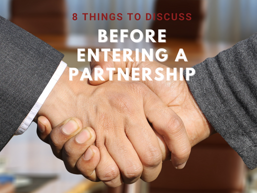 """Partnerships:  8 Things You Should Know Before You Say """"I do"""""""