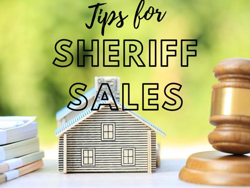 Smart Sheriff Sale Tips & Risks for Real Estate Investors