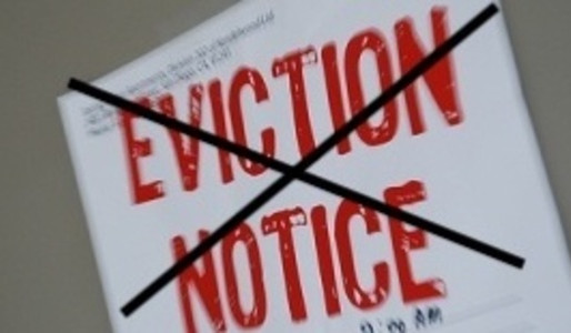 Evictions Halted Until July 10