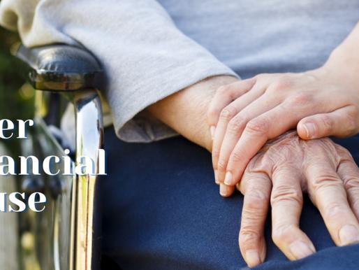 Elder Financial Abuse: The Silent Swindle