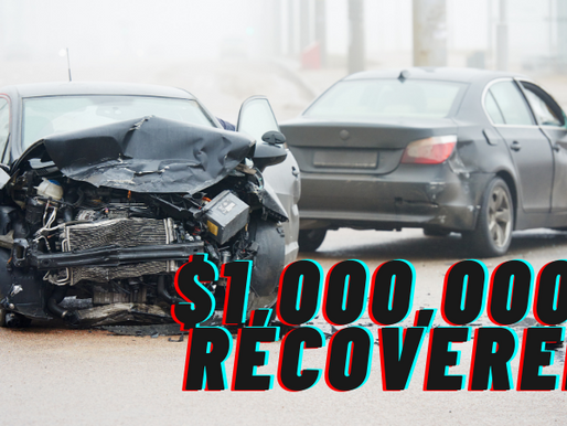 $1,000,000+ Recovered for Family of Accident Victim