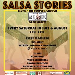 Flyer Open Streets|East Harlem