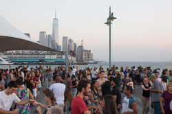 Outdoor Dancing by the Piers