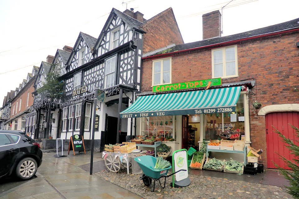 Local shops offering local produce