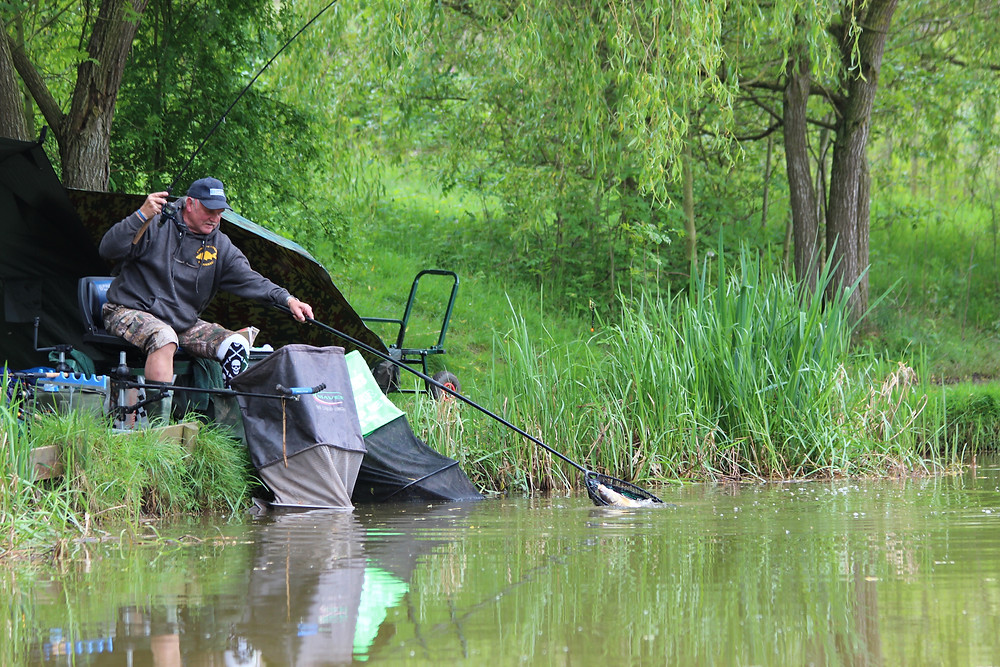 Roger Fullbrook enjoyed a lovely days fishing on the waggler