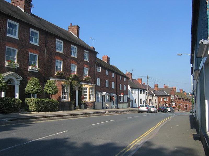 Cleobury High Street