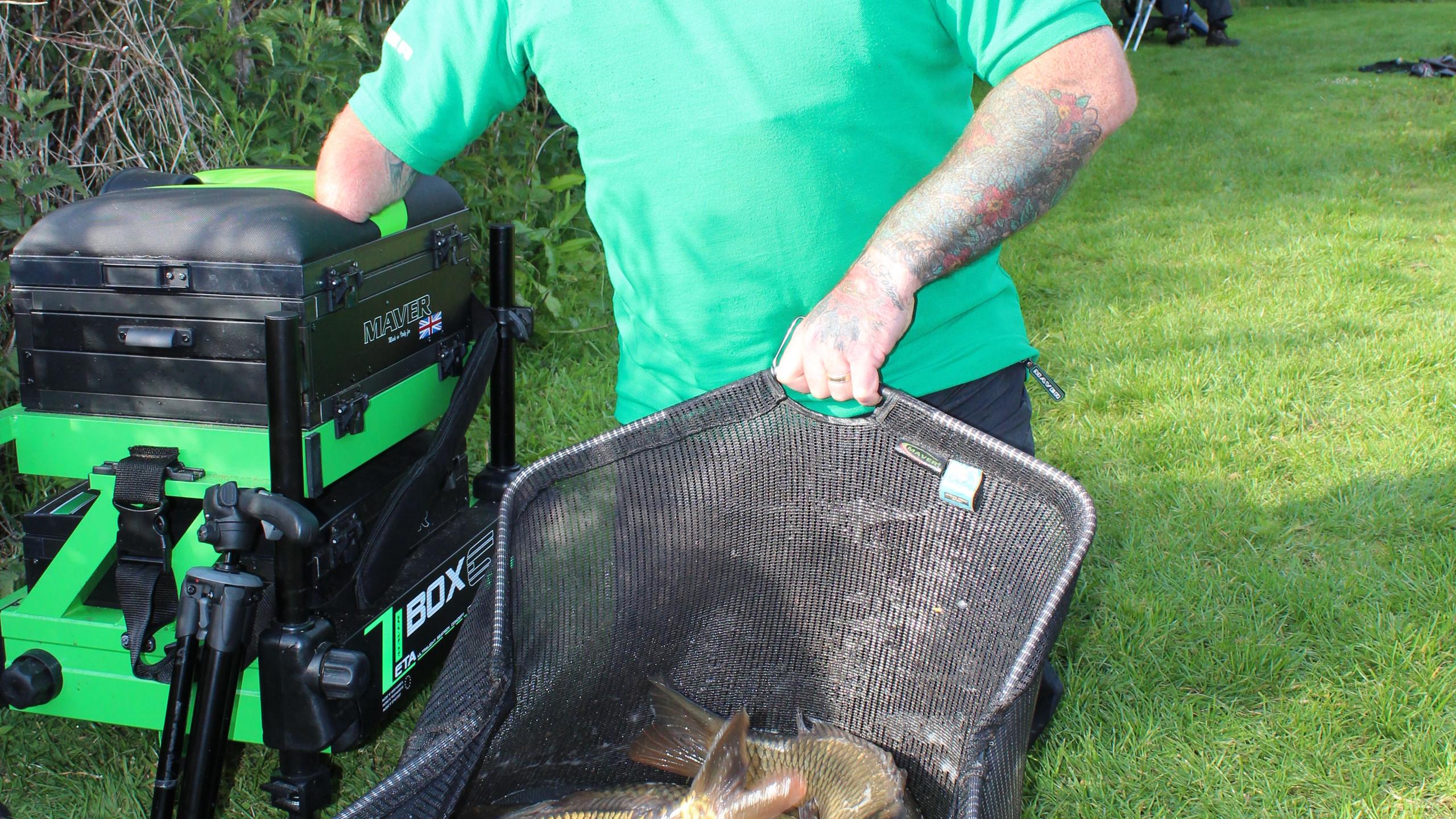 A great bag of carp weighing 58-04-00