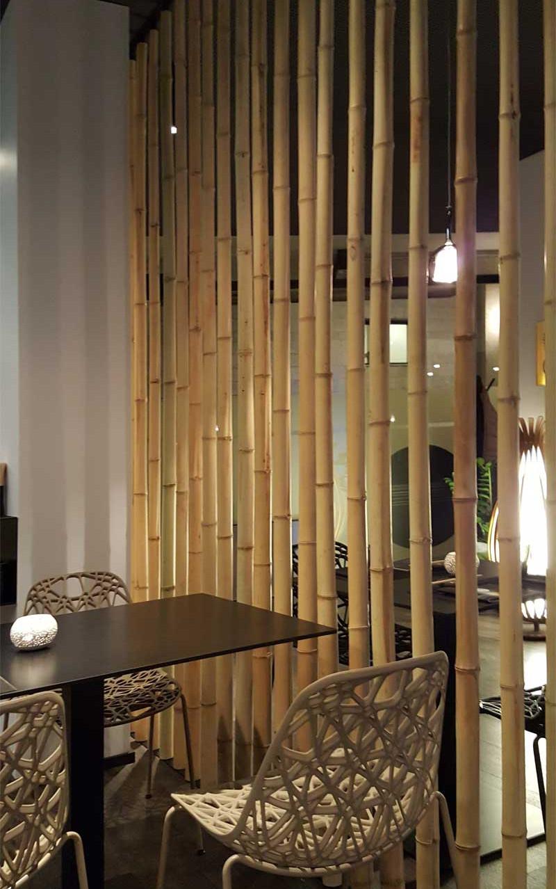 Divisorio in bambu