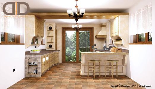 Cucina in muratura