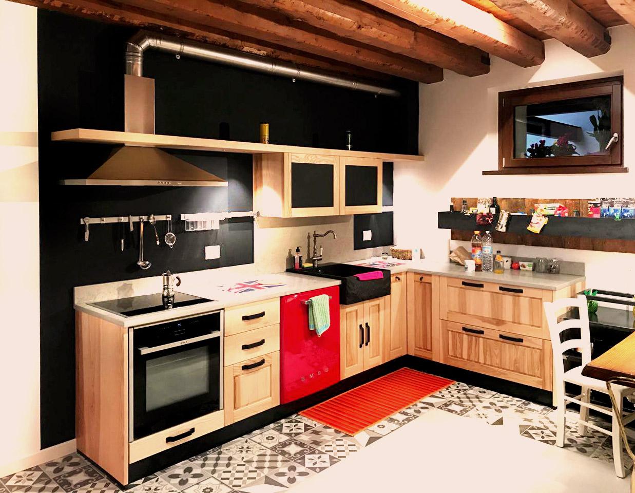 Cucina su misura - Vista A