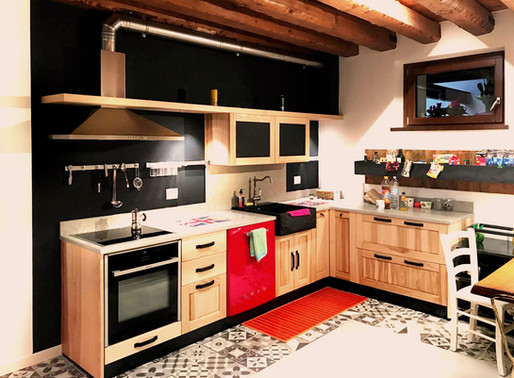 Vintage & Industrial 'Savoia's Kitchen'