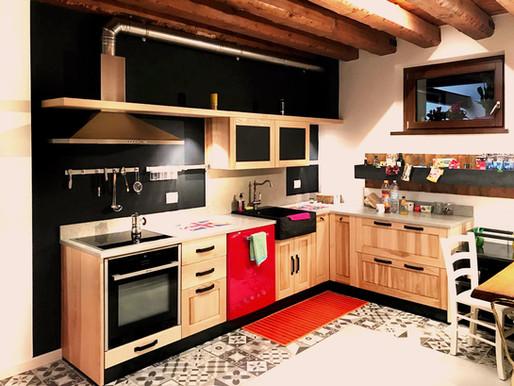 Vintage & Industrial 'Savoia's Kitchen'