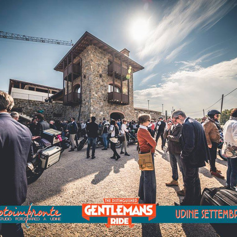 Distinguished Gentleman's Ride Udine 2017