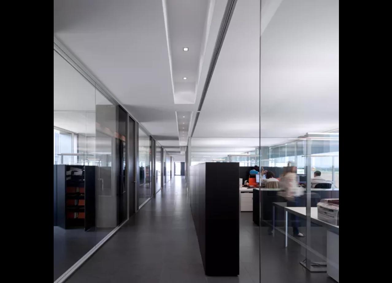 Vista corridoio uffici