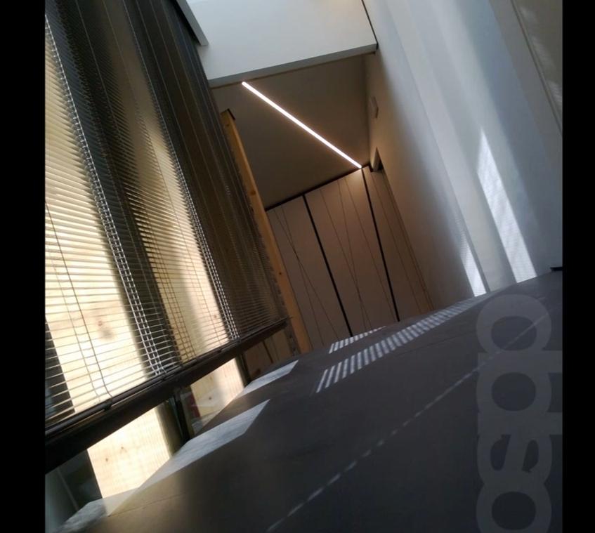 Vista ingresso lato uffici