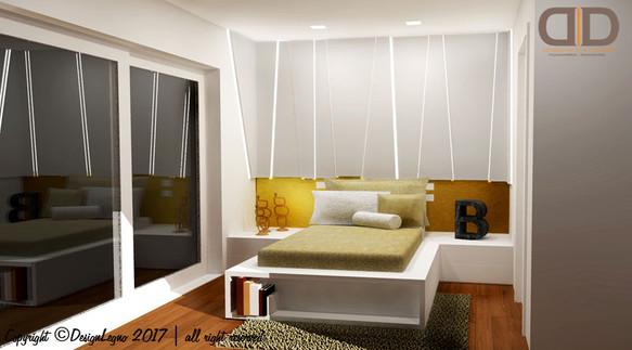 Camera da letto - testiera