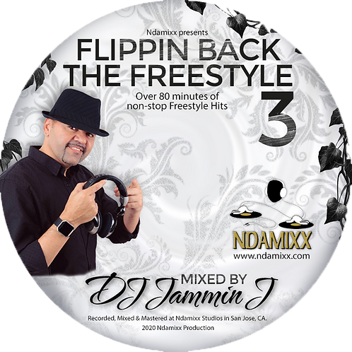 Flippin Back The Freestyle 3 - CD