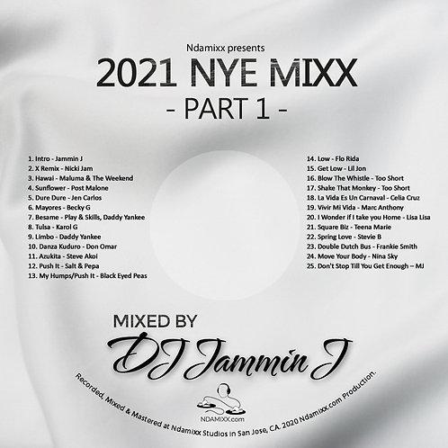 2021 NYE Mixx Part 1 - CD