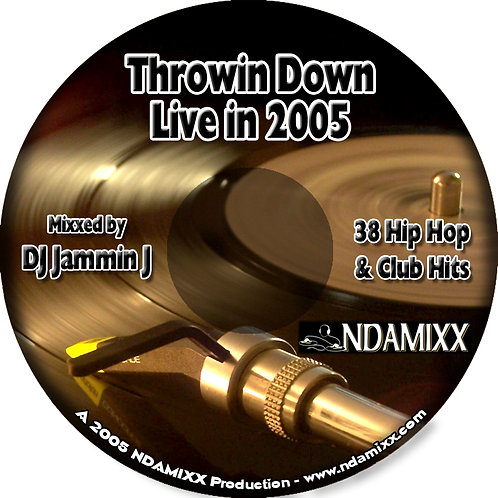 Throwin Down Live in 2005- CD