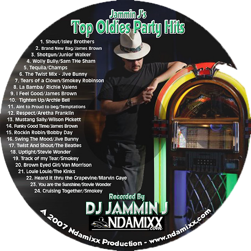 Top Oldies Party Hits - CD