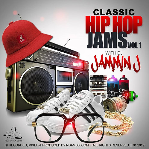 Classic Hip Hop Jams Vol 1 - CD