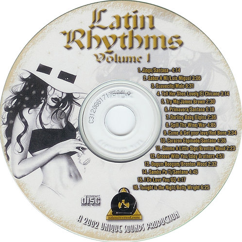 LATIN RHYTHMS Vol 1