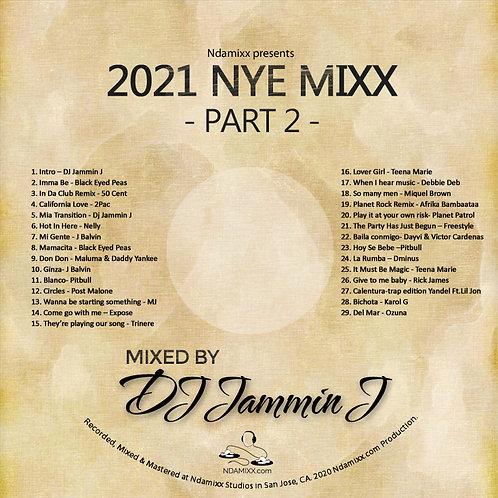 2021 NYE Mixx Part 2 MP3