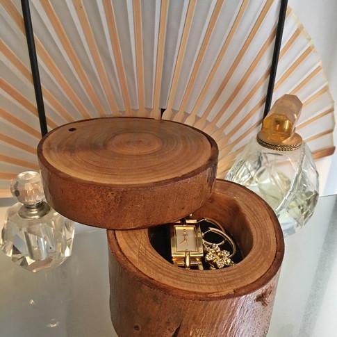 Upcycled Branch Ring Box