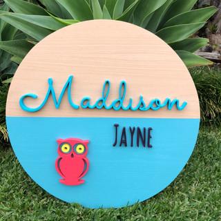 Custom Sign Maddison