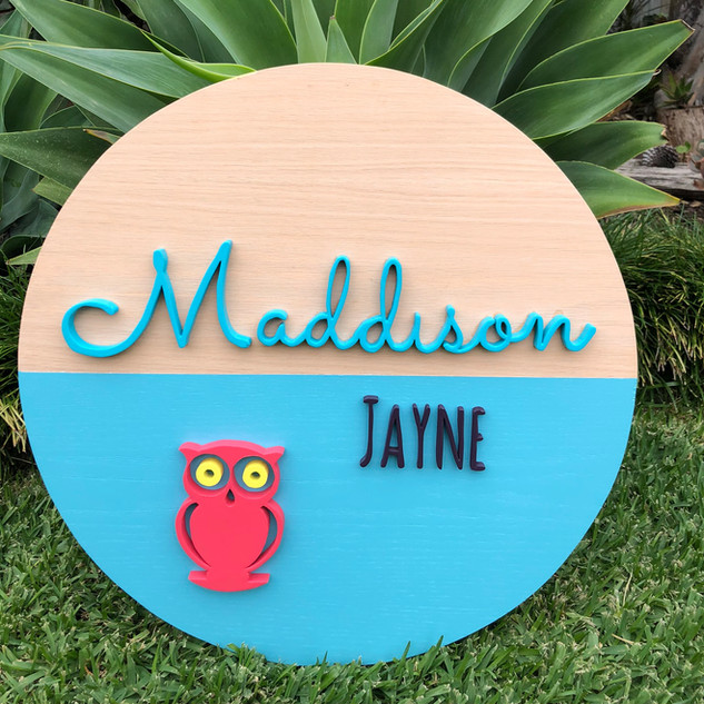 Custom Sign Maddison
