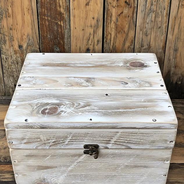 White Wash Jewellery Box