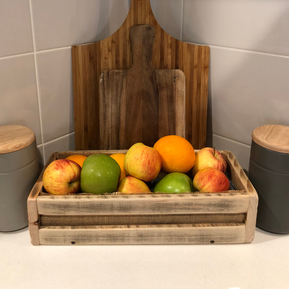 Upcycled Pallet Mini Crate