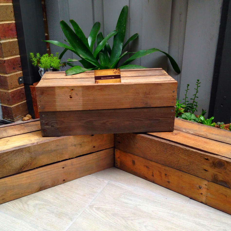 Upcycle Pallet Display Boxes