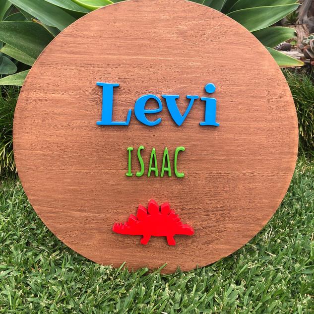 Custom Sign Levi