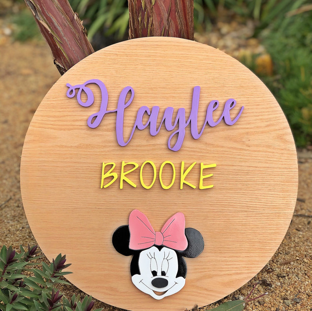 Custom Sign Haylee