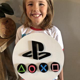 Playstation Sign