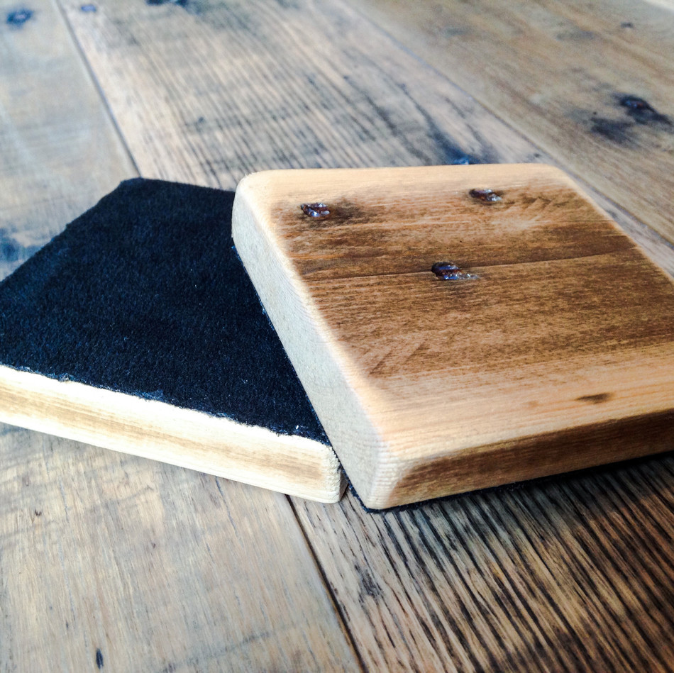 Upcycled Pallet Drink Coasters