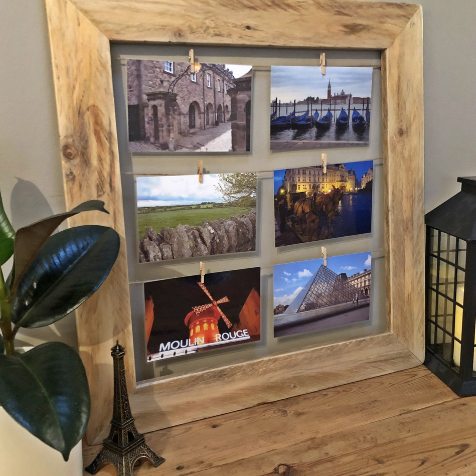 Upcycled Pallet Collage Photo Frame