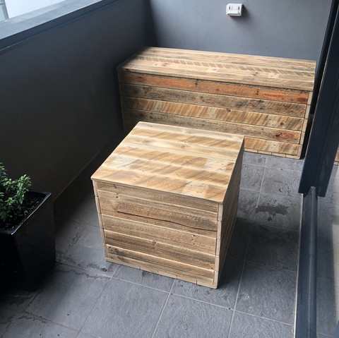 Upcycle Pallet Storage