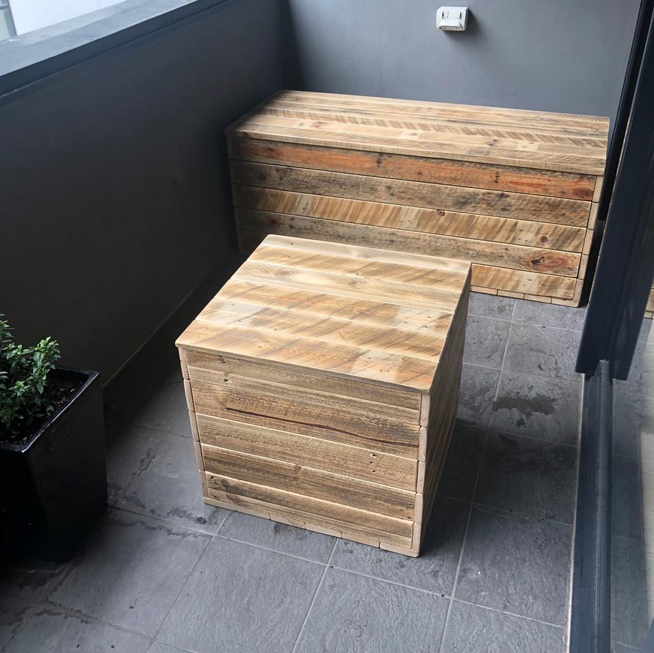 Upcycle Pallet Storage