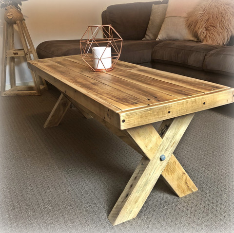 Rectangle Upcycled Pallet Coffee Table