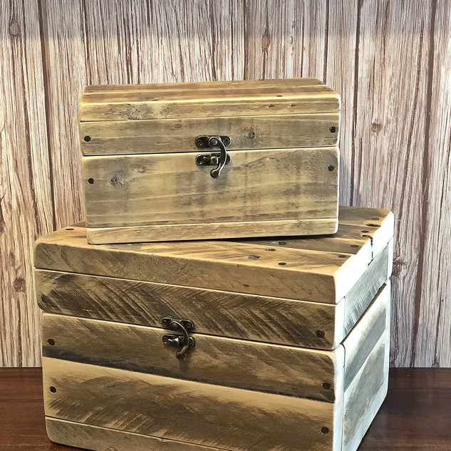Natural Pallet Jewellery Box