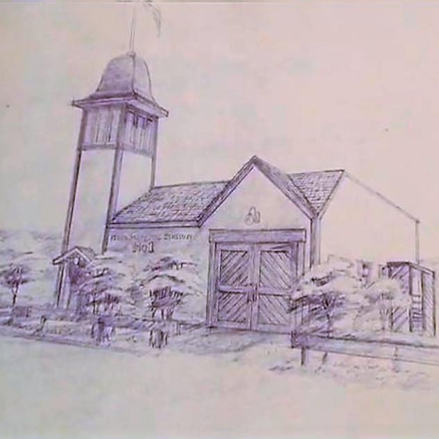 Firehouse Sketch