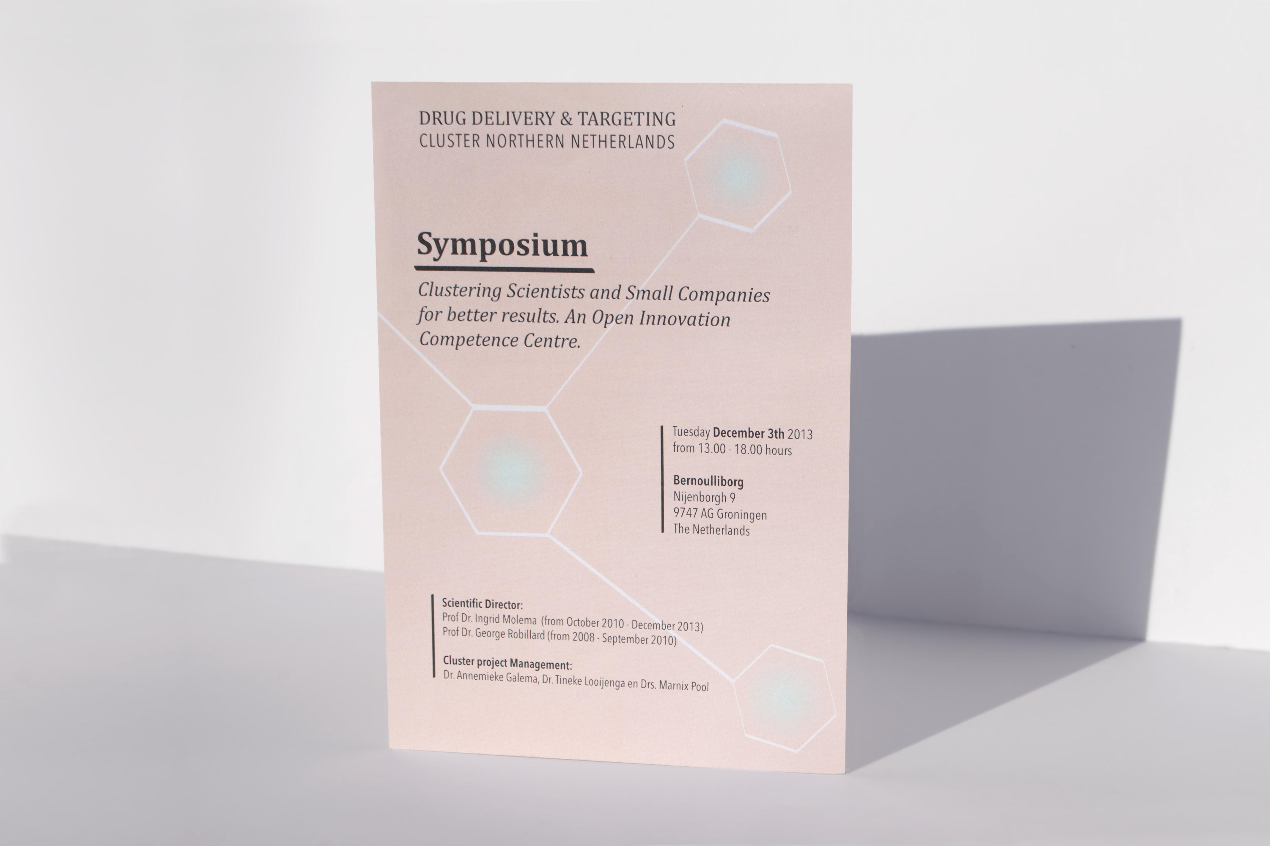 SYMPOSIUM UITNODIGING