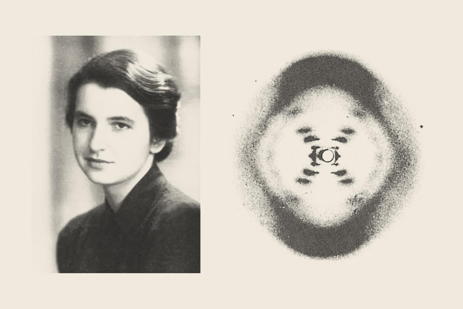Rosalind Franklin - X-ray photo